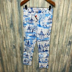 Gretchen Scott Whimsical Pants sz S  NEW # T795